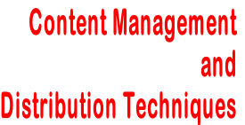 Content Management and Distribution Techniques